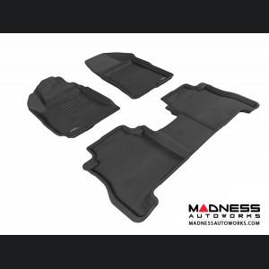 Hyundai Santa Fe Floor Mats (Set of 3) - Black by 3D MAXpider