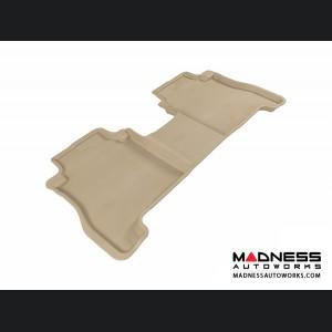 Hyundai Santa Fe Floor Mat - Rear - Tan by 3D MAXpider
