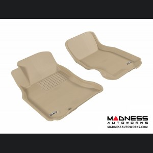 Infiniti FX35/ FX45 Floor Mats (Set of 2) - Front - Tan by 3D MAXpider