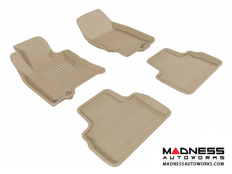 Data Center Floor Mats : Infiniti qx floor mats set of tan by d