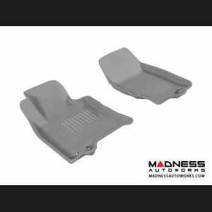 Infiniti EX35 Floor Mats (Set of 2) - Front - Gray by 3D MAXpider