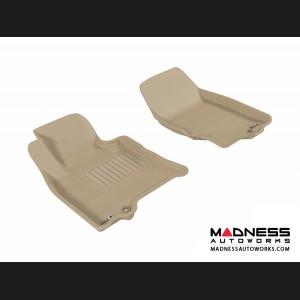 Infiniti EX35 Floor Mats (Set of 2) - Front - Tan by 3D MAXpider