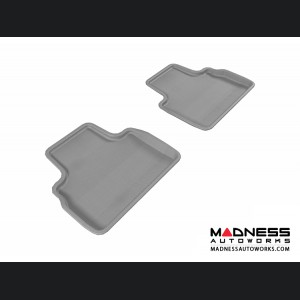 Infiniti FX35/ FX50/ FX50S Floor Mats (Set of 2) - Rear - Gray by 3D MAXpider