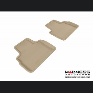 Infiniti FX35/ FX50/ FX50S Floor Mats (Set of 2) - Rear - Tan by 3D MAXpider