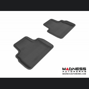 Infiniti FX35/ FX50/ FX50S Floor Mats (Set of 2) - Rear - Black by 3D MAXpider