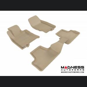 Infiniti EX35 Floor Mats (Set of 3) - Tan by 3D MAXpider