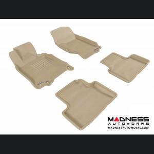 Infiniti G35/ G37 Sedan Floor Mats (Set of 4) - Tan by 3D MAXpider