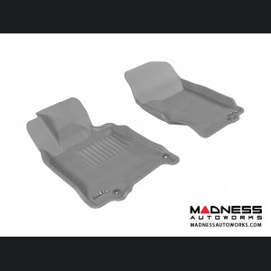 Infiniti G35/ G37 Coupe/ Sedan Floor Mats (Set of 2) - Front - Gray by 3D MAXpider