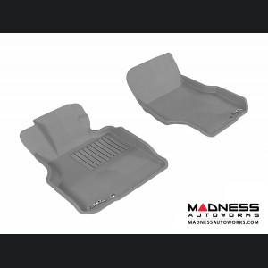 Infiniti M35 Floor Mats (Set of 2) - Front - Gray by 3D MAXpider