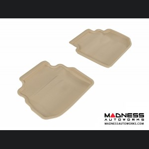 Infiniti M35 Floor Mats (Set of 2) - Rear - Tan by 3D MAXpider