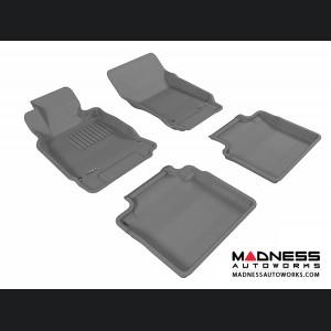 Infiniti M37 Floor Mats (Set of 4) - Gray by 3D MAXpider