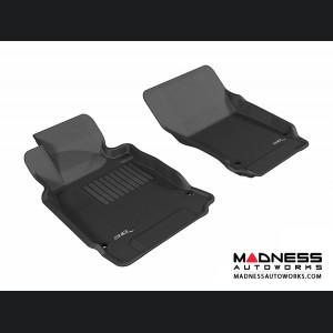 Infiniti M37 Floor Mats (Set of 2) - Front - Black by 3D MAXpider