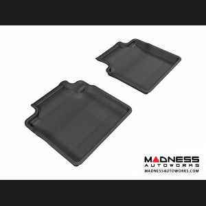 Infiniti M37 Floor Mats (Set of 2) - Rear - Black by 3D MAXpider