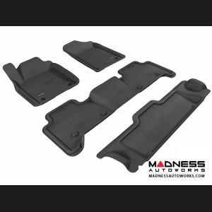 Infiniti QX80/ QX56 Floor Mats (Set of 4) - Black by 3D MAXpider