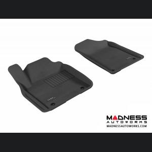 Infiniti QX80/ QX56 Floor Mats (Set of 2) - Front - Black by 3D MAXpider