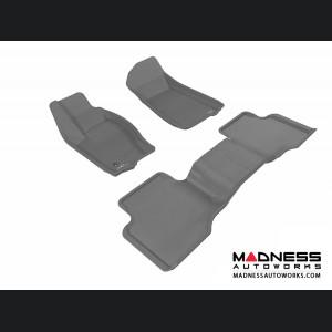Jeep Grand Cherokee Floor Mats (Set of 3) - Gray by 3D MAXpider