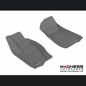 Jeep Grand Cherokee Floor Mats (Set of 2) - Front - Gray by 3D MAXpider