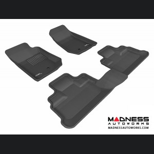 Jeep Wrangler Unlimited Floor Mats (Set of 3) - Black by 3D MAXpider