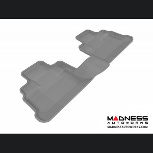 Jeep Wrangler Unlimited Floor Mat - Rear - Gray by 3D MAXpider