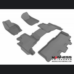 Jeep Commander Floor Mats (Set of 4) - Gray by 3D MAXpider