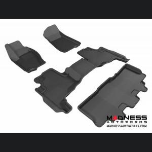 Jeep Commander Floor Mats (Set of 4) - Black by 3D MAXpider
