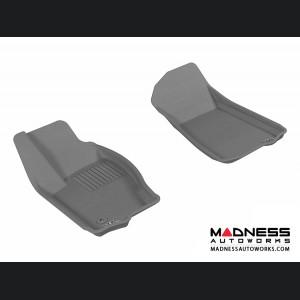 Jeep Commander Floor Mats (Set of 2) - Front - Gray by 3D MAXpider