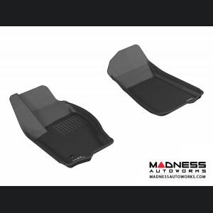 Jeep Commander Floor Mats (Set of 2) - Front - Black by 3D MAXpider