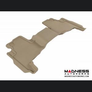 Jeep Commander Floor Mat - Rear - Tan by 3D MAXpider