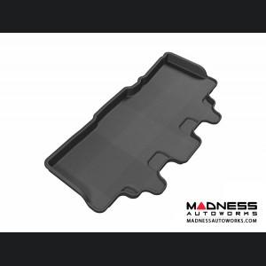 Jeep Commander Floor Mat - 3rd Row - Black by 3D MAXpider