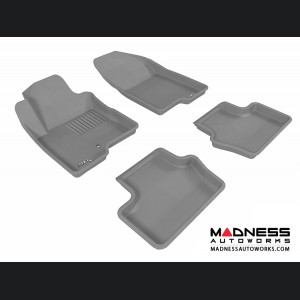 Jeep Compass Floor Mats (Set of 4) - Gray by 3D MAXpider
