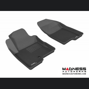 Jeep Compass Floor Mats (Set of 2) - Front - Black by 3D MAXpider