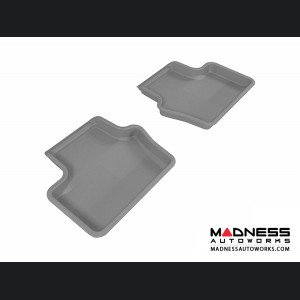 Jeep Compass Floor Mats (Set of 2) - Rear - Gray by 3D MAXpider