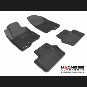 Jeep Compass Floor Mats (Set of 4) - Black by 3D MAXpider