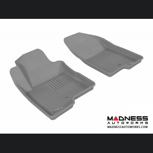 Jeep Compass Floor Mats (Set of 2) - Front - Gray by 3D MAXpider