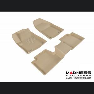 Jeep Cherokee Floor Mats (Set of 3) - Tan by 3D MAXpider