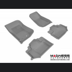 Jeep Wrangler Floor Mats (Set of 4) - Gray by 3D MAXpider
