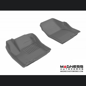 Land Rover Range Rover Evoque Floor Mats (Set of 2) - Front - Gray by 3D MAXpider