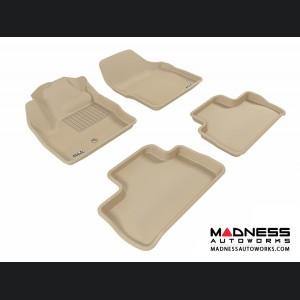 Land Rover LR2 Floor Mats (Set of 4) - Tan by 3D MAXpider