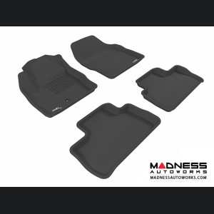 Land Rover LR2 Floor Mats (Set of 4) - Black by 3D MAXpider