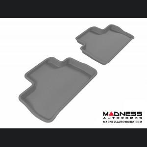 Land Rover LR2 Floor Mats (Set of 2) - Rear - Gray by 3D MAXpider