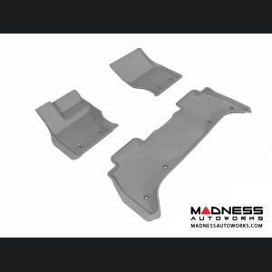 Land Rover Range Rover Floor Mats (Set of 3) - Gray by 3D MAXpider