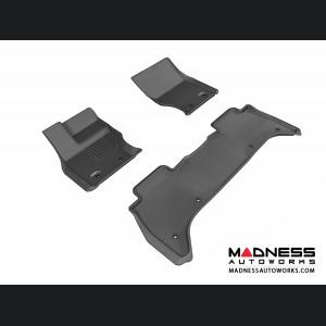 Land Rover Range Rover Floor Mats (Set of 3) - Black by 3D MAXpider