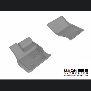 Land Rover Range Rover Floor Mats (Set of 2) - Front - Gray by 3D MAXpider