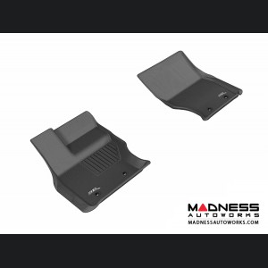 Land Rover Range Rover Floor Mats (Set of 2) - Front - Black by 3D MAXpider