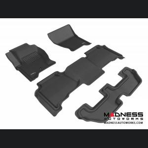 Land Rover LR4 Floor Mats (Set of 4) - Black by 3D MAXpider