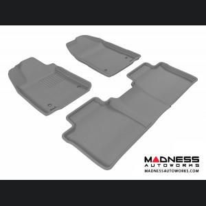 Lexus ES350 Floor Mats (Set of 3) - Gray by 3D MAXpider