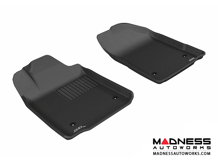 Lexus ES350 Floor Mats (Set of 2) - Front - Black by 3D MAXpider
