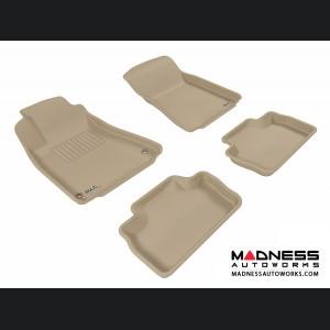Lexus IS250/ IS350/ ISF Floor Mats (Set of 4) - Tan by 3D MAXpider
