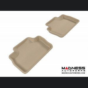 Lexus IS250/ IS350/ ISF Floor Mats (Set of 2) - Rear - Tan by 3D MAXpider