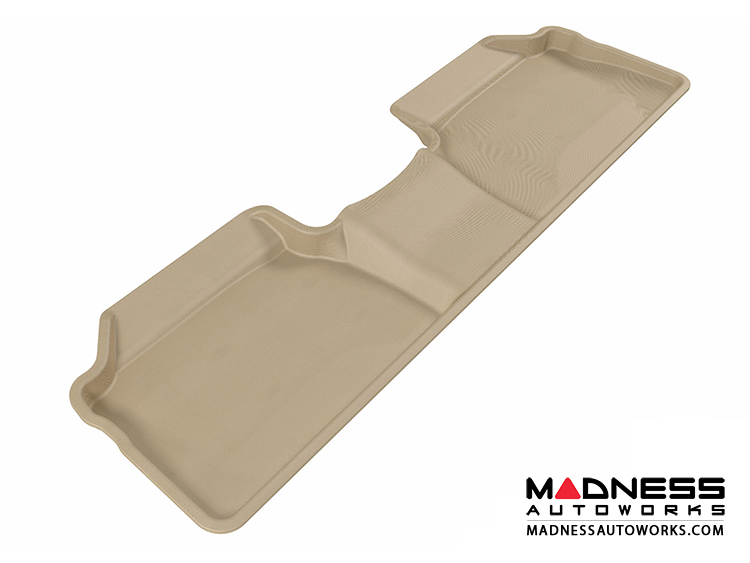 Lexus CT200H Floor Mat - Rear - Tan by 3D MAXpider